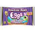 Tootsie Roll Eggs Wrapped