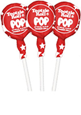 Cherry with Stars Wrapper Tootsie Pops (50 ct. Bag)