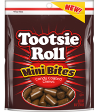 Tootsie Roll Mini Bites 9 oz. Resealable Pouch
