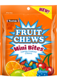 Tootsie Fruit Chew Mini Bites 9 oz. Resealable Pouch