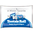 Tootsie Roll Vanilla Midgees in Winter Bag