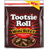 image of Tootsie Roll Mini Bites 9 oz. Resealable Pouch packaging