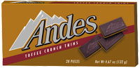 Image of Andes Toffee Crunch Thins Package