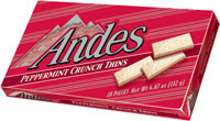 Image of Andes Peppermint Crunch Thins Package