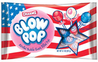 Image of Charms Blow Pop Flag Bag (9.1 oz. Bag) Package
