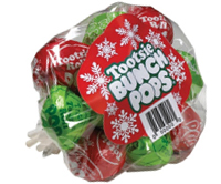 Image of Tootsie Christmas Bunch Pops Package
