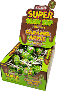 Image of Charms Caramel Apple Super Blow Pop Package