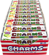 Assorted charms C