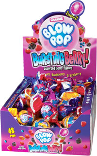 Image of Charms Blow Pop Bursting Berry Package