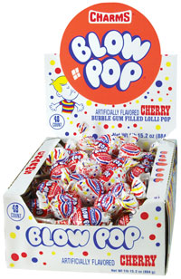 Image of Charms Blow Pop Cherry Package
