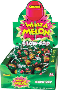 Image of Charms Blow Pop What-A-Melon Package