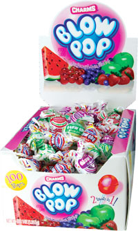 Image of Charms Blow Pop Assorted (100 ct. Box) Package