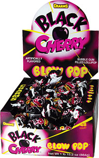Image of Charms Blow Pop Black Cherry Package