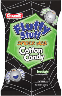 Image of Fluffy Stuff Spider Web Cotton Candy Package