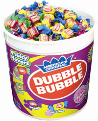 Image of Dubble Bubble Assorted Twist (300 ct. Tub) Package