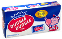 Image of Dubble Bubble Nostalgic Box Package