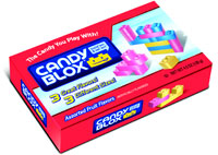 Image of Candy Blox Activity Candy (4.5 oz. Box) Package