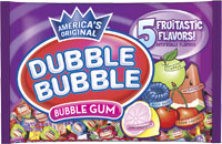 Image of Dubble Bubble Assorted Twist (1 lb. Bag) Package