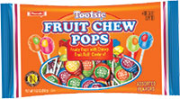Image of Fruit Chew Pops (10.2 oz. Bag) Package