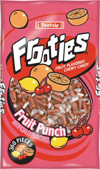 Image of Frooties Fruit Punch Package