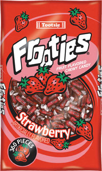 Image of Frooties Strawberry Package