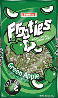 Image of Frooties Green Apple Package