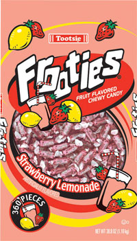 Image of Frooties Strawberry Lemonade Package