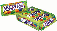Image of Razzles Sour Pouch Package