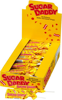 Image of Sugar Daddy (0.45 oz. Pop) Package
