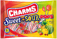 Image of Charms Sweet 'N Sour Pops (9 oz. Bag) Package