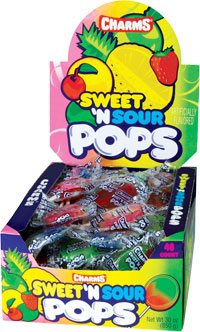 Image of Charms Sweet 'N Sour Pops Package