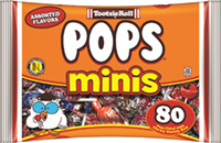 Image of Tootsie Pops Miniatures (14.4 oz. Bag) Package