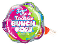 Image of Tootsie Sweet and Sour Bunch Pops Package