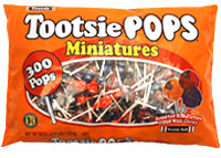 Image of Tootsie Pops Miniatures (300 ct. Bag) Package