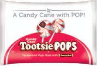 Image of Candy Cane Tootsie Pop (9.6 oz./Approx. 15 ct. Bag) Package