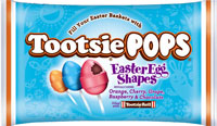 Image of Tootsie Easter Egg Shaped Pops (9 oz. Bag) Package