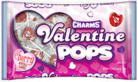 Image of Charms Valentine Pops (11.5 oz bag) Package