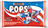 Image of Tootsie Pops Flag Bag (9 oz. Bag) Package