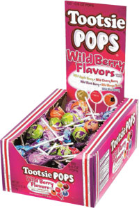 Image of Tootsie Pops – Wild Berry Flavors Package
