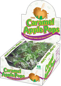 Image of Caramel Apple Pops (30 oz./48 ct. Box) Package