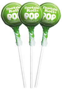 Image of Green Apple Tootsie Pops (50 ct. Bag) Package