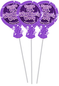 Image of Wild Black Berry Tootsie Pops (20 ct. Bag) Package
