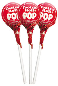 Image of Cherry Tootsie Pops (50 ct. Bag) Package