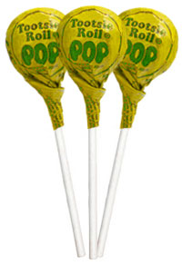 Image of Lemon Tootsie Pops (50 ct. Bag) Package