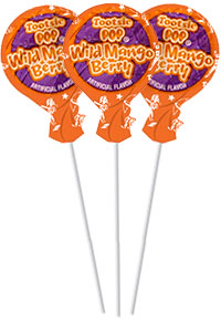 Image of Wild Mango Berry Tootsie Pops (50 ct. Bag) Package