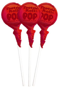 Image of Pomegranate Tootsie Pops (50 ct. Bag) Package