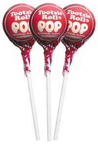 Raspberry Tootsie Pops (50 ct. Bag)