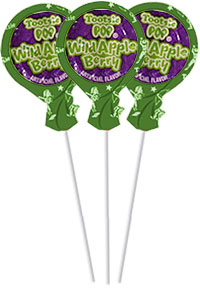 Image of Wild Apple Berry Tootsie Pops (50 ct. Bag) Package