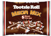 Image of Tootsie Roll Mega Mix (4 lb. Bag) Package