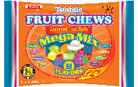 Image of Tootsie Fruit Chews Mega Mix (4 lb. Bag) Package
